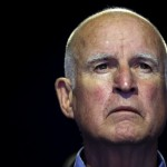 """California Governor Edmund """"Jerry"""" Brown attends a meeting during the World Climate Change Conference 2015 (COP21) at Le Bourget, near Paris, France, December 5, 2015. REUTERS/Stephane Mahe"""