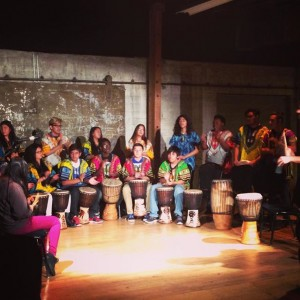 Citystage Drumming Class