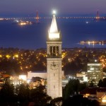 Sather Tower rises above the University of California at Berkeley campus in Berkeley, California, U.S. in this May 12, 2014 file photo.    REUTERS/Noah Berger/File Photo