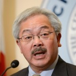 San Francisco Mayor Ed Lee.    REUTERS/Kate Munsch